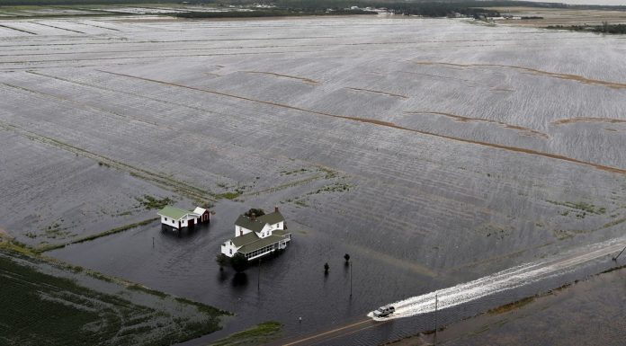 Photos: what Hurricane Florence's destruction looks like on the ground