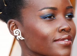 Hollywood Is Seriously Digging Blue Eyeshadow Right Now