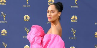Tracee Ellis Ross Turned Up The Volume On The Emmys Red Carpet