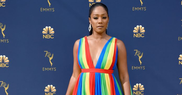 Tiffany Haddish's Prabal Gurung Gown Honored Her Father