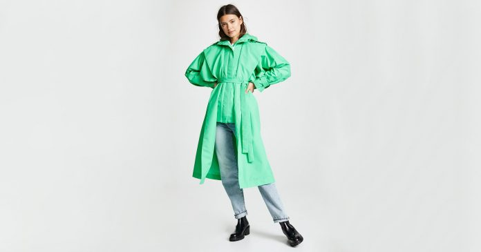 These Trench Coats Are Anything But Boring