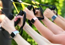 A life insurance company wants to track your fitness data