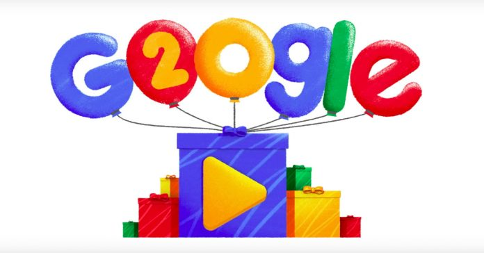 Google is 20 years old. Yay?