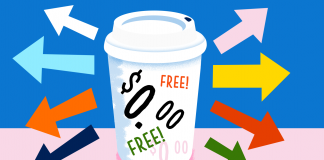Where to get free coffee this Saturday AKA National Coffee Day