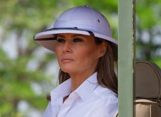 Melania Trump Wears Another Controversial Outfit — This Time With A Disturbing History