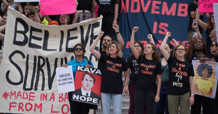 Women Must Stop Playing By The Rules After Brett Kavanaugh's Confirmation