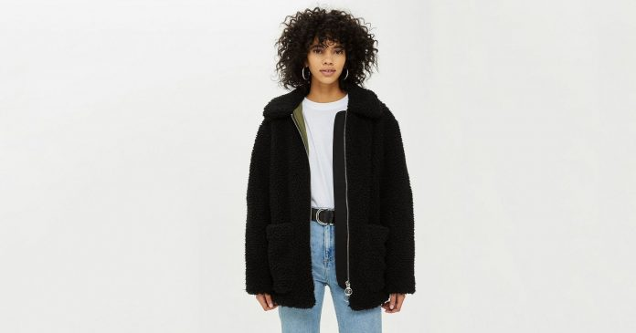 Wrap Yourself Up Like A Fashion Burrito In These 16 Teddy Coats