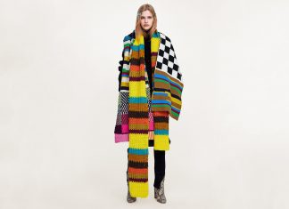 Forget Hats & Gloves. Oversized Scarves Our #1 Winter Accessory