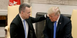 """""""Who did you vote for"""": Trump's welcome-home question for the US pastor released by Turkey"""