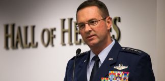 """US National Guard chief: """"The climate is changing. I don't know why."""""""
