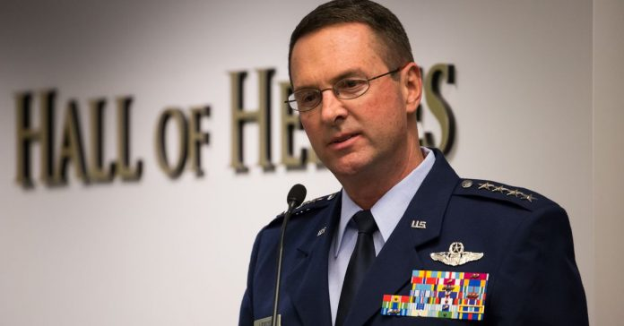 "US National Guard chief: ""The climate is changing. I don't know why."""