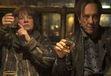 "Richard E. Grant on playing a ""Labrador"" to Melissa McCarthy's ""porcupine"" in their new movie"