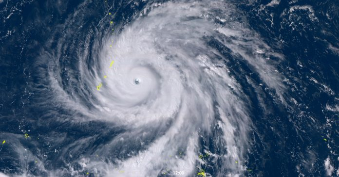 Super Typhoon Yutu, the strongest storm of the year, just hit US territories