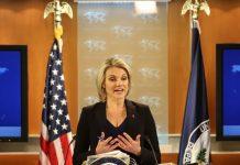 State Department spokesperson Heather Nauert may be the next UN ambassador