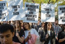 """Time Is Up!"" What Google's New York Workers Have To Say About Their Worldwide Walkout"