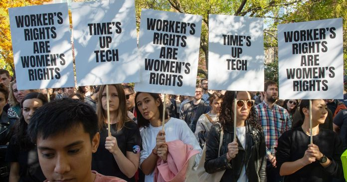 """""""Time Is Up!"""" What Google's New York Workers Have To Say About Their Worldwide Walkout"""