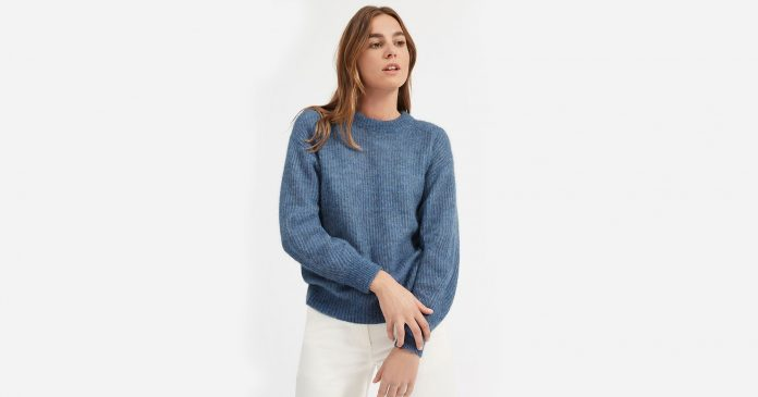 Everlane Just Released Its Comfiest Sweater Yet
