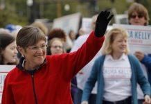 Democrat Laura Kelly wins in Kansas, defeating Kris Kobach