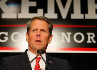 Brian Kemp finally steps down from administering the election he ran in