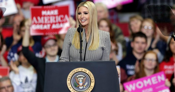 What Ivanka Did This Week: Trump Rallies & Trademarks For Voting Machines