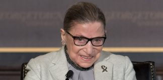 """Worry Not: RBG Is Ready To """"Get Back To Work,"""" According To Felicity Jones"""