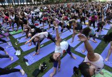 The growth of yoga and meditation in the US since 2012 is remarkable