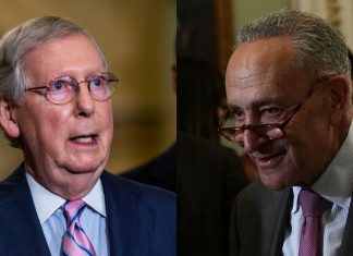 Chuck Schumer and Mitch McConnell hang on to their Senate leadership roles