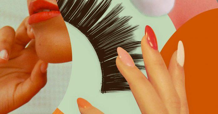 How To Make Your False Eyelashes Last and Last