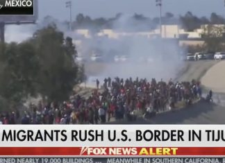 Fox News wants you to be very afraid of what's happening at the border