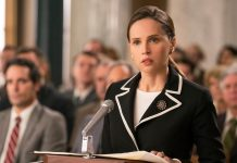 Ruth Bader Ginsburg's iconification culminates in the biopic On the Basis of Sex
