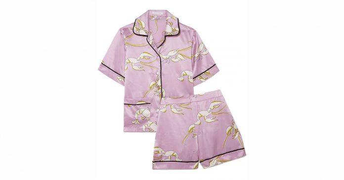 Treat Yourself To These Worth-The-Splurge Silk Pajamas