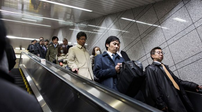 Should escalators be standing-only? Some cities think so.