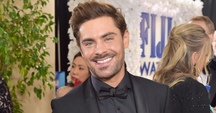 Zac Efron Just Dyed His Hair Platinum — & Fans Are Losing It