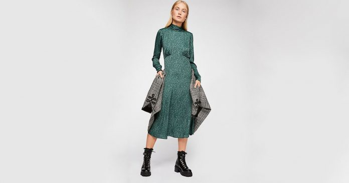 17 Long-Sleeve Midi Dresses For Your Winter Wardrobe Consideration