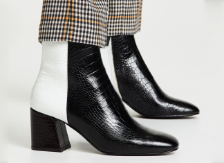 Take A Walk On The Wild Side In These 15 Croc-Effect Boots