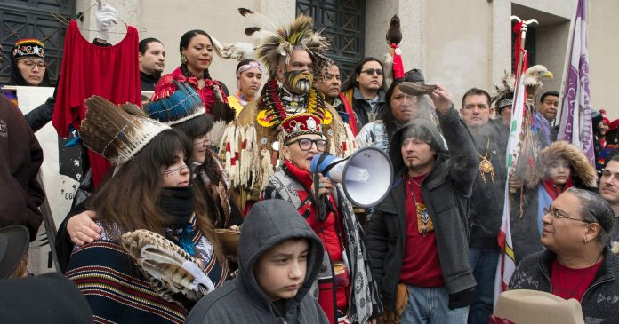 MAGA-Wearing High Schoolers Go Viral For Harassment At An Indigenous Peoples' March