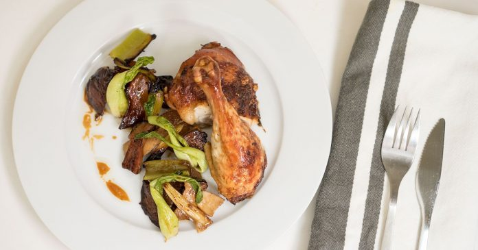 The Roast Chicken Recipe So Easy, This Top Chef Runner-Up Made It In A Terrible Kitchen