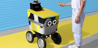 Why do all these robots have cartoon eyes?