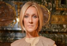 Celine Dions Is All Of Us Watching Valentino's Couture Show