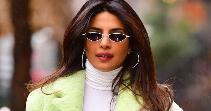 Priyanka Chopra Ditched Her Blonde Highlights For A Warm Winter Look