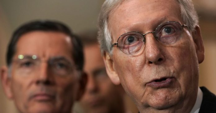 """Mitch McConnell: making Election Day a federal holiday is a Democratic """"power grab"""""""