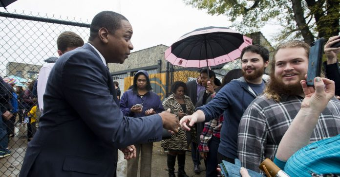 Justin Fairfax, second in line for governor of Virginia, faces sexual assault allegation