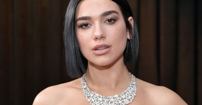 Dua Lipa's Metallic Nails Were The Highlight Of The Grammys