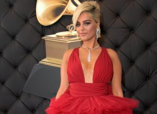 After An Ordeal, Bebe Rexha Feels Like A Princess In Her Red Grammys Dress