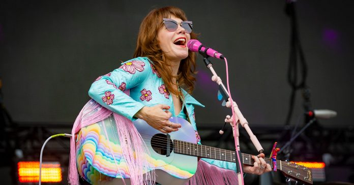 Jenny Lewis Wrote Her Album, On The Line, While Dealing With A Major Trauma