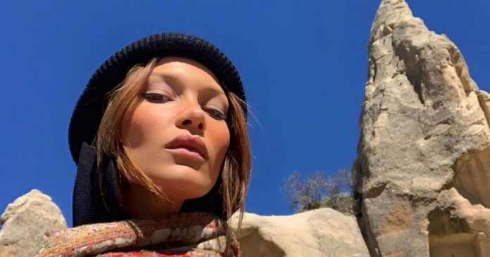 Bella Hadid Just Dyed Her Hair The Perfect Honey Blonde For Spring