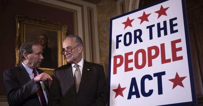 Senate Democrats unveiled an anti-corruption companion bill. Mitch McConnell is already blocking it.