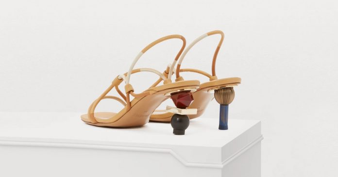 Sculptural Heels Are The Work-Of-Art Shoe Trend You Need For Spring