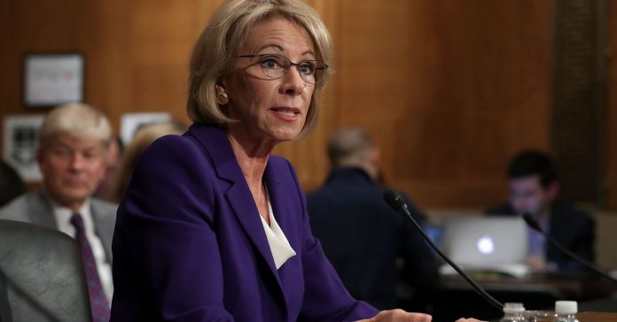 Betsy DeVos's threats to the Special Olympics are cruel. But disabled people have bigger problems.