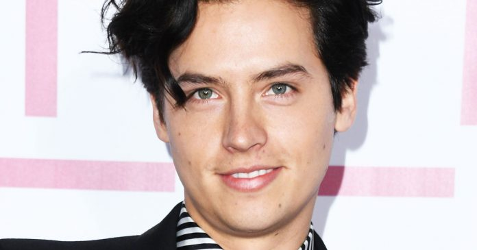 Cole Sprouse's Soft-Boy Grooming Routine Features This $30 Wave Spray